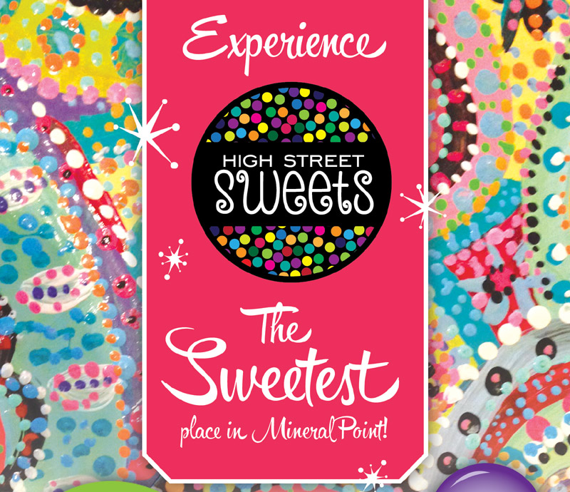 High Street Sweets, the sweetest place in Mineral Point, WI